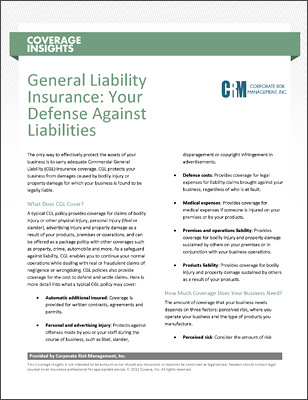 Insurance Insights and Coverage Information thumbnail.
